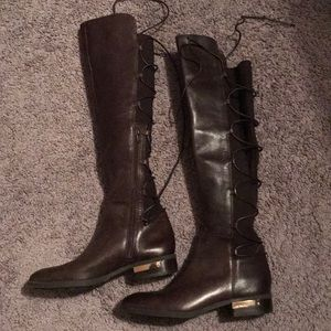 Vince Camuto Over knee leather boots